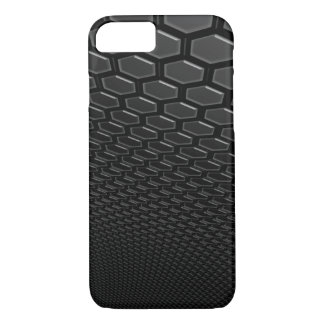 iPhone 7 Barely There Gun Metal 3d Hexagram Wall iPhone 8/7 Case