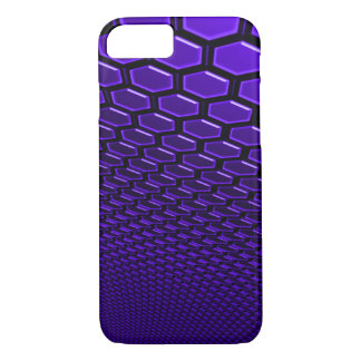 iPhone 7 Barely There Indigo 3D Hexagram Wall Case