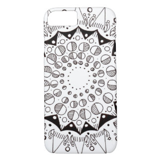 iPhone 7, Barely There w/ Hand-Drawn Design iPhone 7 Case