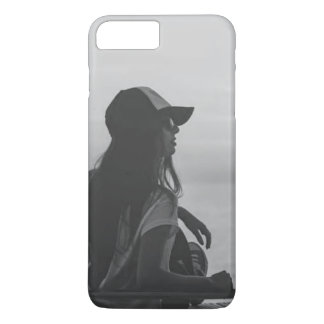 IPhone 7 black and white phone case