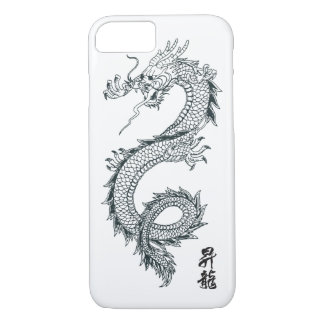 iPhone 7 Black Dragon Phone Case