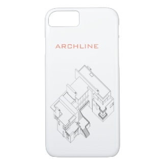 iPHONE 7 CASE Architectural drawnig