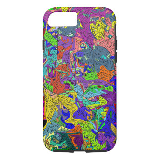 "iPhone 7 case ""Aurora of mystical labyrinths"""