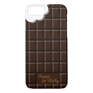 iPhone 7 Case - Black Chocolate Tablet