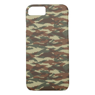 Iphone 7 case Camouflage french lizard pattern 01