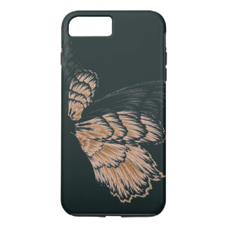 iPhone 7 CASE(CHANGEABLE)  WING PATTERN iPhone 8 Plus/7 Plus Case