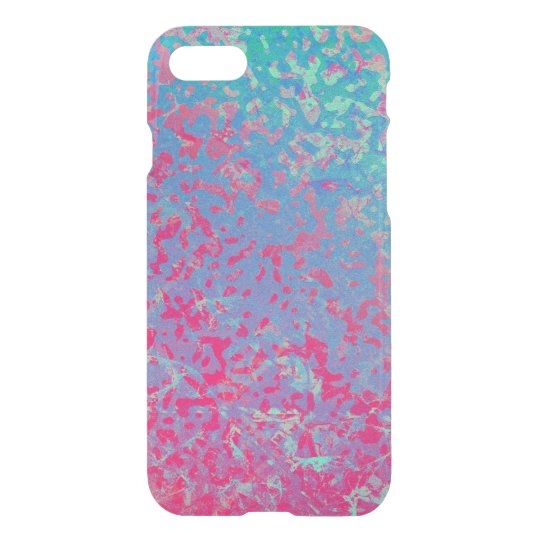 iPhone 7 Case Colourful Corroded Background