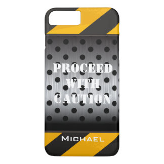 iPhone 7 Case | Construction Zone | Yellow, Black