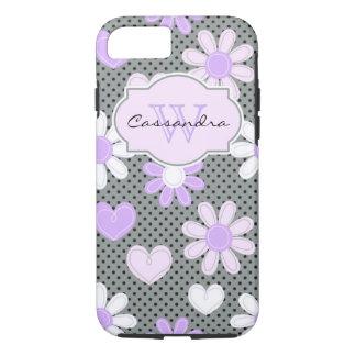 iPhone 7 Case | Daisies | Polka Dots | Hearts