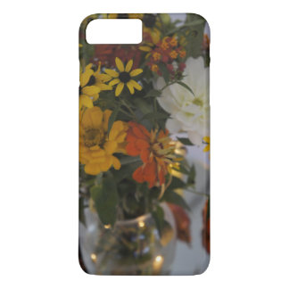 iPhone 7 Case Fall Flowers Floral Protective Case