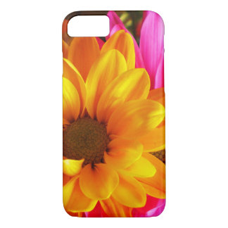 IPhone  7 Case Flower Yellow and Pink