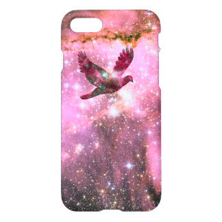 iPhone 7 Case Flying Dove in Space