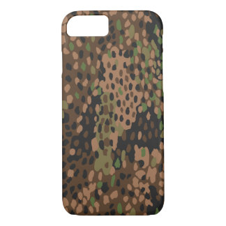 Iphone 7 case German WWII Camouflage pea dot 44