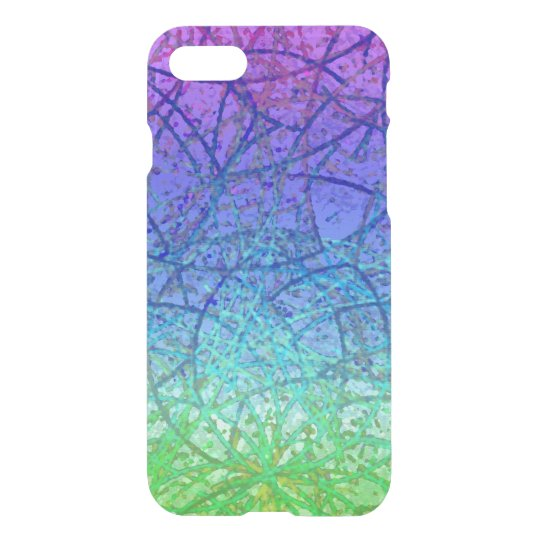 iPhone 7 Case Grunge Art Abstract