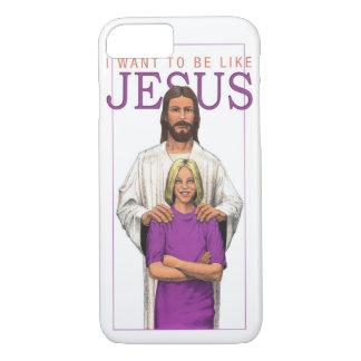 iPhone 7 Case - I Want To Be Like Jesus-Female