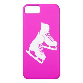 iPhone 7 case Ice Skates Pink
