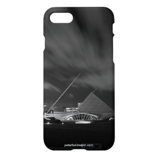 iPhone 7 Case - Milwaukee Art Museum Black & White