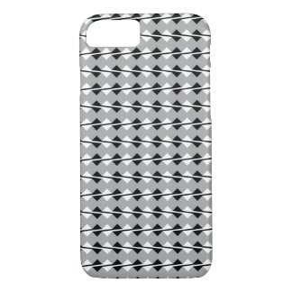 iPhone 7 case - Optical Illusion Gray/Black/White