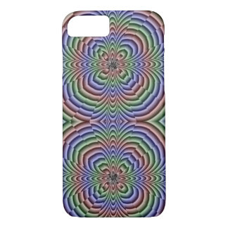 iPhone 7 case - Optical Illusion multi-color