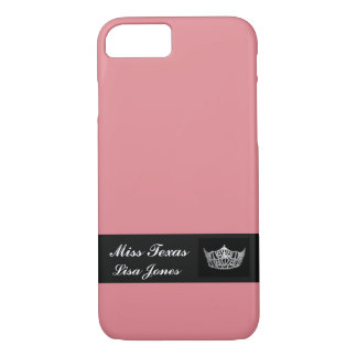 iPhone 7 Case Pageant Crown & Custom Name