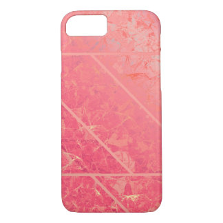 iPhone 7 Case Pink Marble Texture