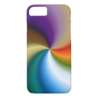 iPhone 7 case - Rainbow Swirl