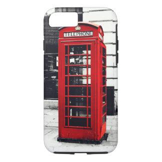 iPhone 7 case Red Telephone Box Case