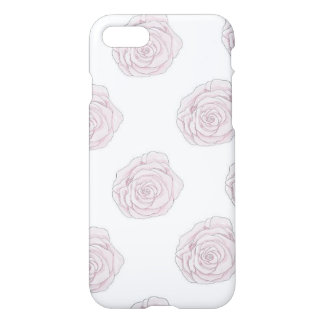 iPhone 7 Case Soft Pink Roses