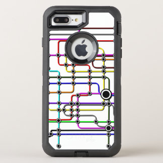 Iphone 7 case Subway design