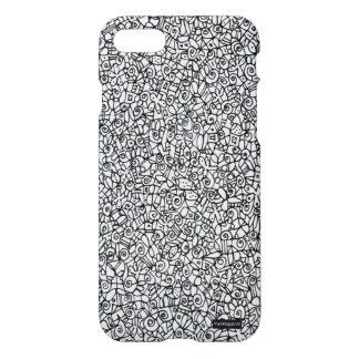 iPhone 7 case, telefoonhoesje, hand maggot sketch iPhone 8/7 Case