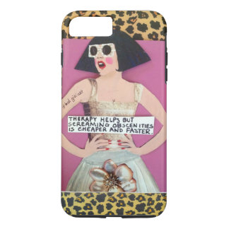 iPhone 7 CASE-THERAPY HELPS BUT SCREAMING iPhone 8 Plus/7 Plus Case