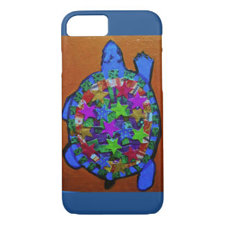 iPhone 7 Case with Bright Turtle