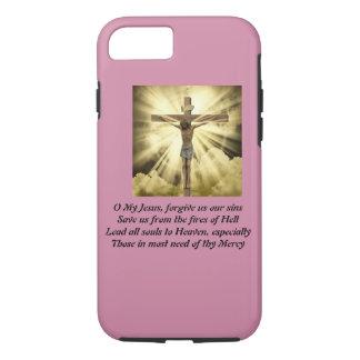 iPhone 7 case with Fatima Prayer