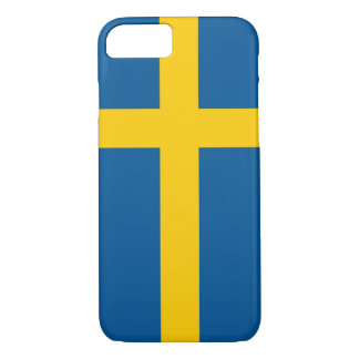 iPhone 7 case with Flag of Sweden
