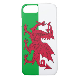 iPhone 7 case with Flag of Wales