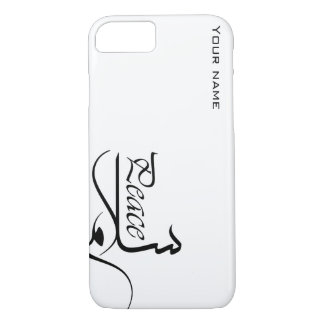 iPhone 7 Case with Peace Template