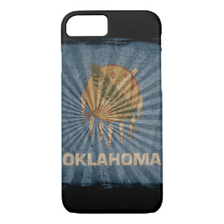 iPhone 7 case with state flag of Oklahoma