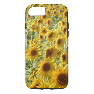 iPhone 7 case with sunflowers