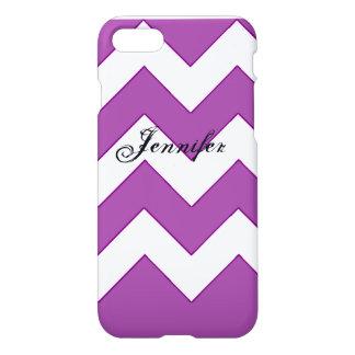 iPhone 7 Chevron Purple iPhone 8/7 Case