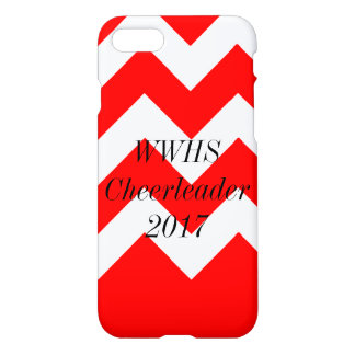 iPhone 7 Chevron Red iPhone 8/7 Case