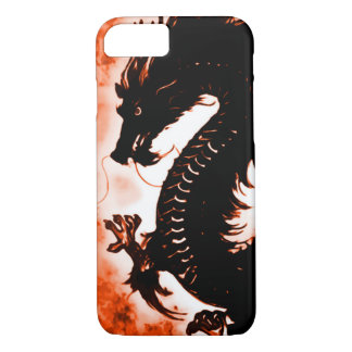 iPhone 7 Chinese Wood Dragon Fantasy Art Nouveau iPhone 7 Case