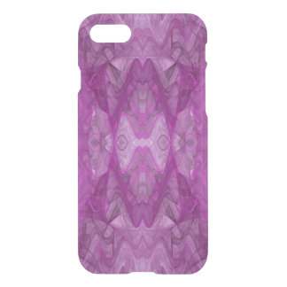 iPhone 7 Clearly Deflector Case Abstract Fractal