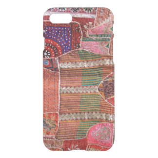iPhone 7 Clearly Deflector Case Crazy Quilt