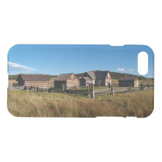 iPhone 7 Clearly Deflector Case Log Cabin Historic