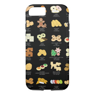 Iphone 7 Cover, Black, Cookies Case-Mate iPhone Case