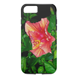 iPhone 7 Cover-Hibiscus Blooms in the Night iPhone 7 Case