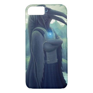 iPhone 7 Crow Warrior Fantasy Art Case