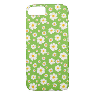 iPhone 7 daisy flower pattern case