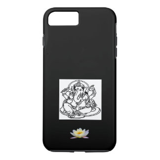 iPhone 7 GANESH BLACK & WHITE W. WHITE LOTUS iPhone 7 Plus Case