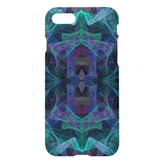 iPhone 7 Glossy Case With Abstract Fractal Design